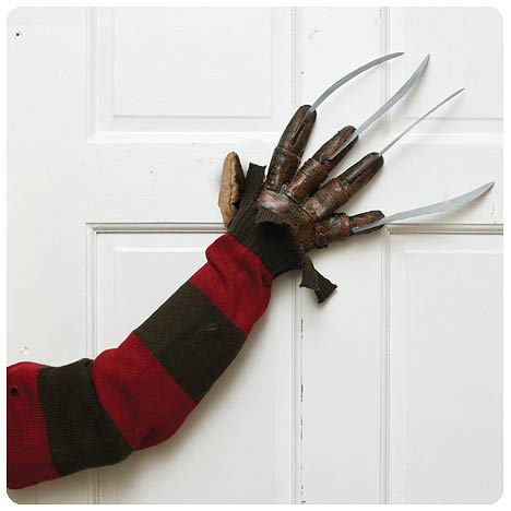Nightmare on Elm Street Door Knocker Freddy Prop