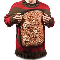 Nightmare on Elm Street Freddy Krueger Animated Chest of Souls Sweater