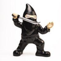 Ninja Gnome Garden Gnome