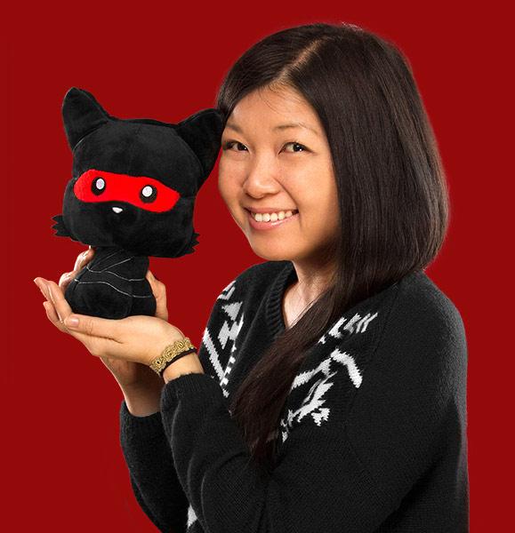 Ninja Kitty Plush Toy