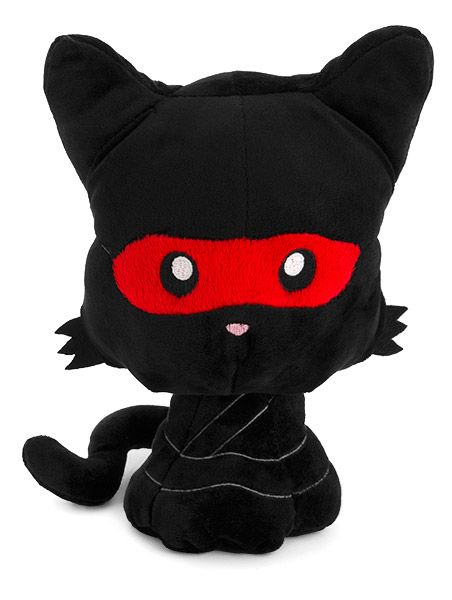 Ninja Kitty Plush