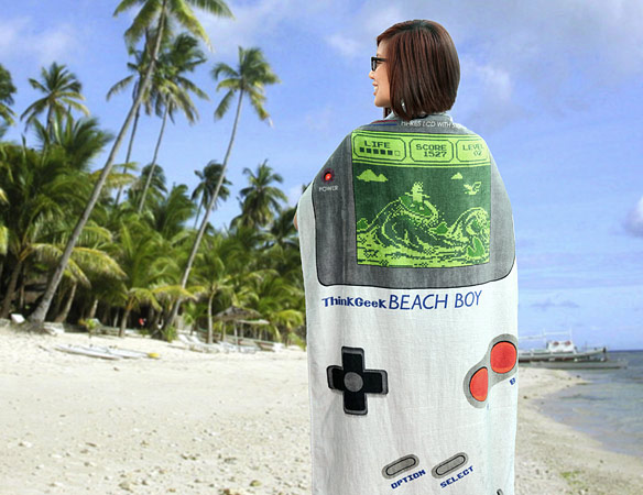 Nintendo Beach Boy Towel