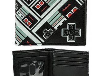 Nintendo Controller All Over Print Bi-Fold Wallet