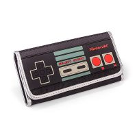 Nintendo Controller Trifold Ladies Wallet