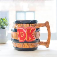 Nintendo DK Barrel Mug