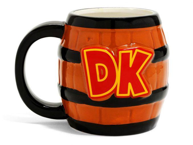 Nintendo Donkey Kong Barrel Mug