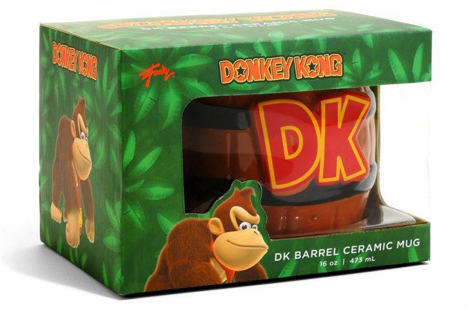 Nintendo Donkey Kong Barrel Mug Box