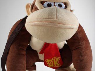 Nintendo Donkey Kong Plush Mini Backpack