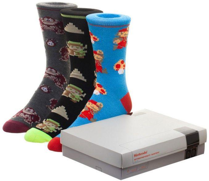 Nintendo Game Console Socks