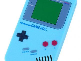 Nintendo GameBoy Design Silicone iPhone 4 Open-face Case