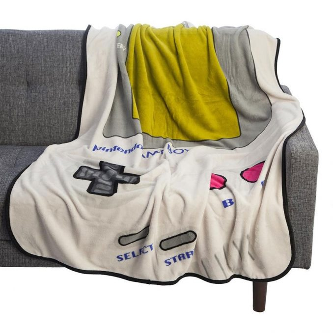 Nintendo Gameboy Fleece Throw Blanket