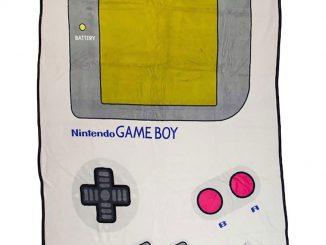 Nintendo Gameboy Plush Fleece Throw