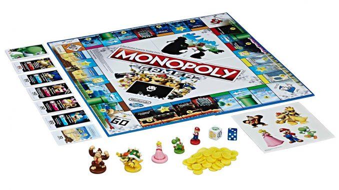 Nintendo Gamer Monopoly