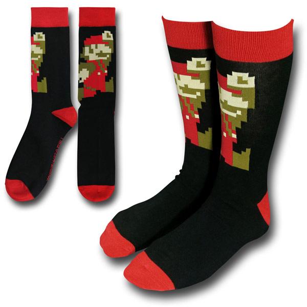 Nintendo Jumping Mario Crew Socks