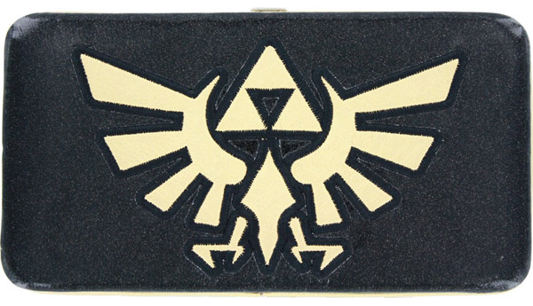 Nintendo Legend of Zelda Glitter Triforce Hinge Wallet