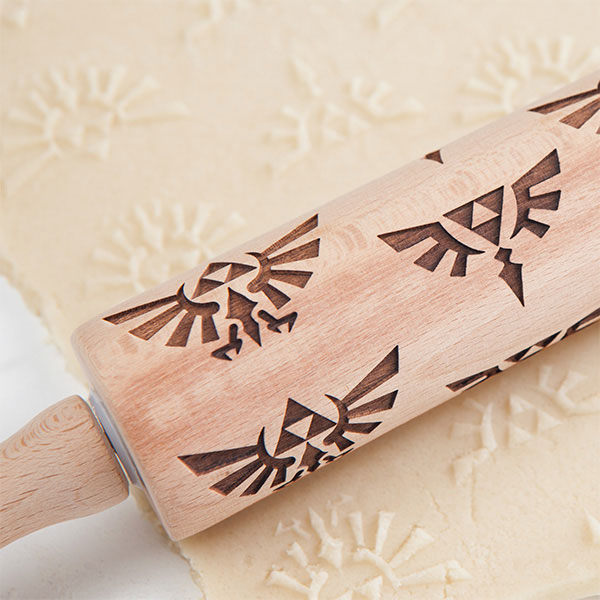 Nintendo Legend of Zelda Molded Rolling Pin
