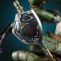Nintendo Link on Epona Statue