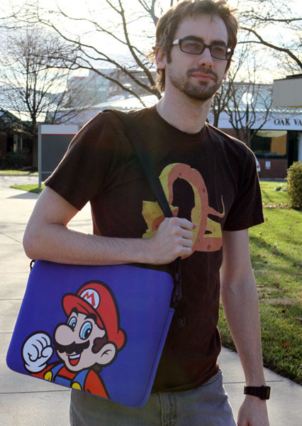 Nintendo Mario Brothers Laptop Case