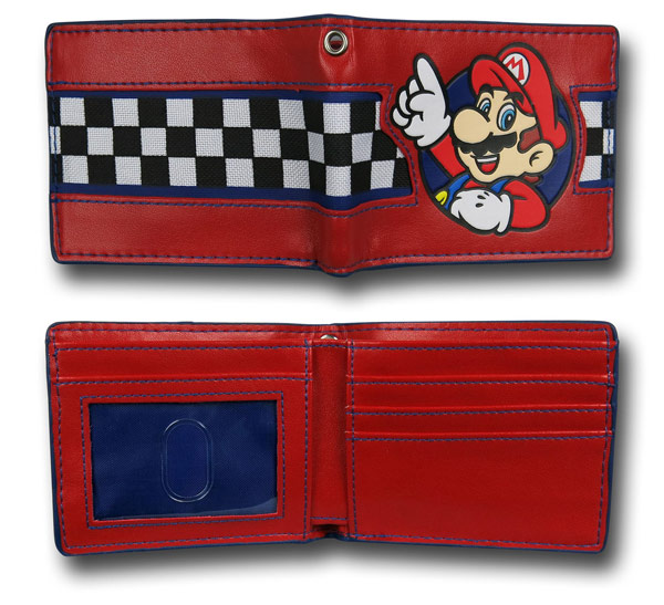 Nintendo Mario Checker Wallet