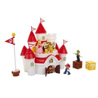 Nintendo Mario Mushroom Kingdom Castle Deluxe Playset