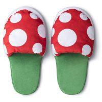 Nintendo Mario Piranha Plant Slippers