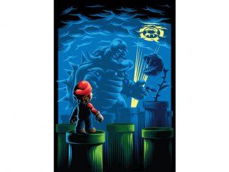 Nintendo Mario Poster