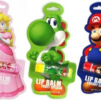 Nintendo Mario, Yoshi, and Princess Peach Lip Balms