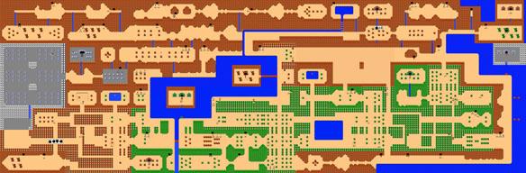 Nintendo NES Zelda Wall Mural