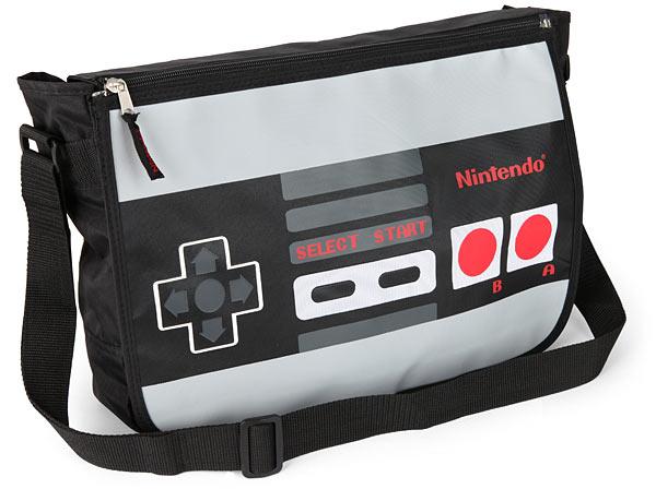 Nintendo Reversible Messenger Bag