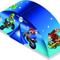Nintendo Super Mario Action on The Tracks Bed Tent