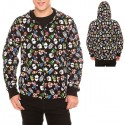 Nintendo Super Mario Bros Allover Print Zip Hoodie