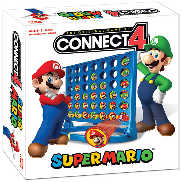 Nintendo Super Mario Connect 4 Game