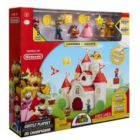 Nintendo Super Mario Mushroom Kingdom Castle Deluxe Playset Box