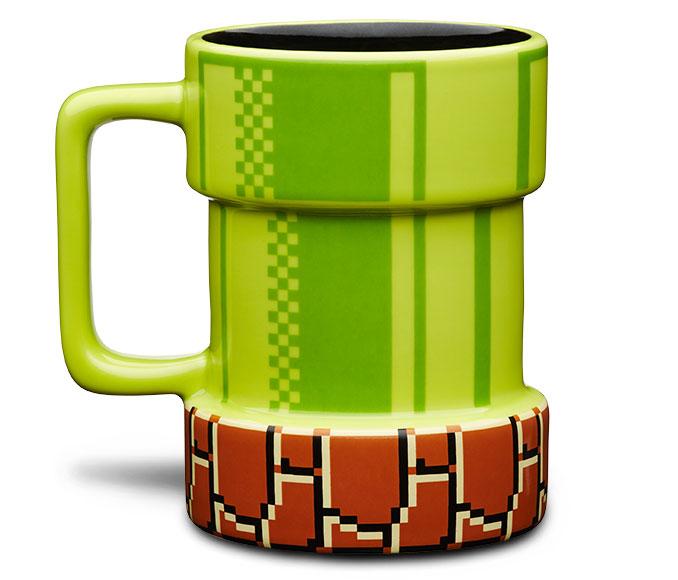 Nintendo Super Mario Pipe Mug