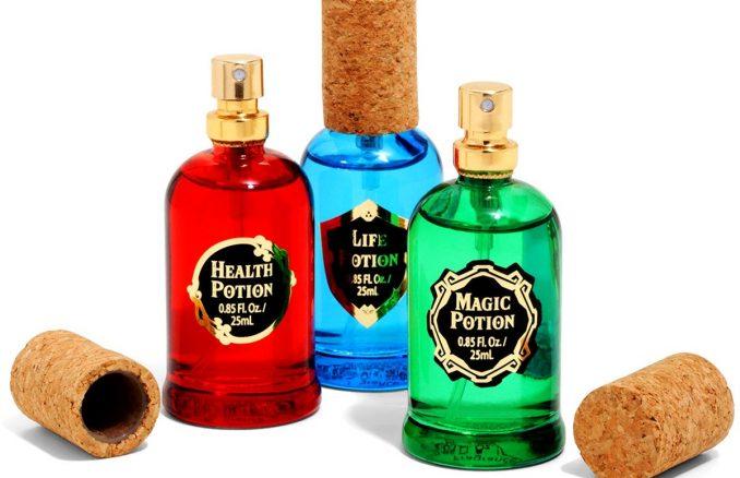 Nintendo The Legend Of Zelda Potion Fragrance Set
