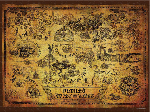 Nintendo The Legend of Zelda Collectors Puzzle