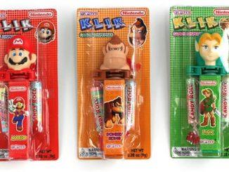Nintendo Zelda, Donkey Kong, Super Mario Klik Candy Dispenser