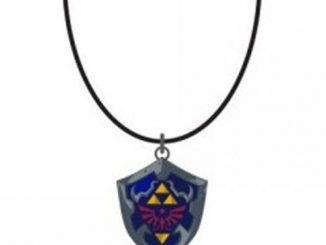 Nintendo Zelda Shield Necklace