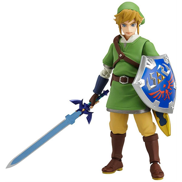 Nintendo Zelda Skyward Sword Link Figma Action Figure