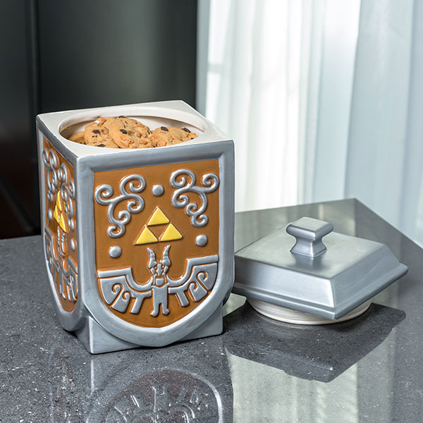 Nintendo Zelda Triforce Cookie Container