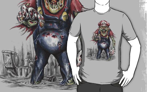 Nintendo Zombie MarioT-Shirt
