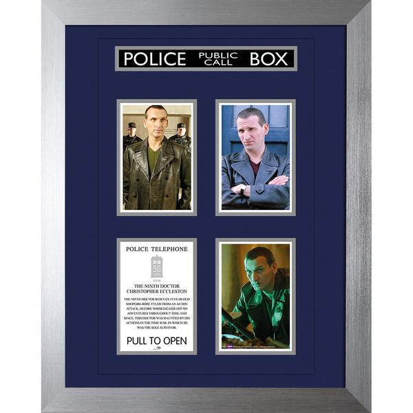 Ninth Doctor 50th Anniversary Deluxe Framed Print