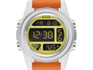 Nixon Unit SW Watch - Rebel Pilot Orange