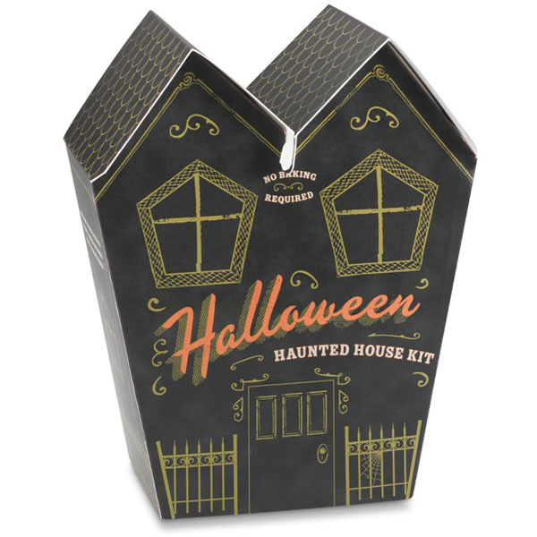 No-Bake Halloween Haunted House