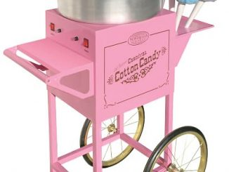 Nostalgia Electrics CCM-600 Vintage Collection Old Fashioned Cotton Candy Cart