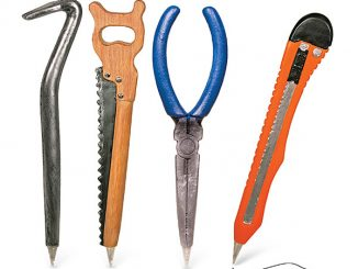 Not So Dangerous Tool Pens - 4pk
