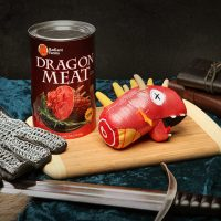 Novelty Canned Dragon Meat