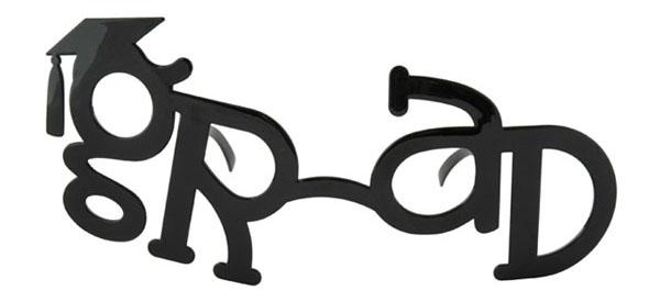 Novelty Graduate Glasses
