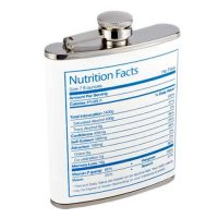 Nutrition Facts Flask