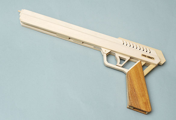 OGG Craft Semi-Auto Rubber Band Guns